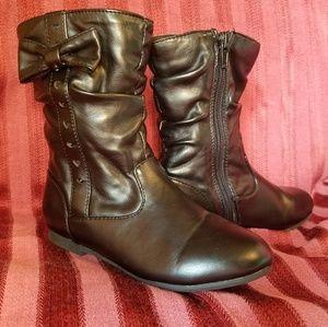 Black Piper dress boots size 11